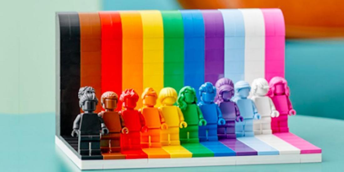 LEGO crée un ensemble de briques aux couleurs LGBT+