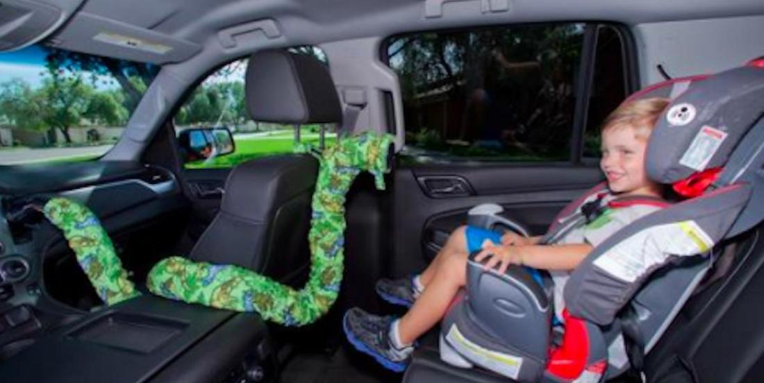 Les passagers ont trop chaud à l'arrière de votre auto? Voici une solution!