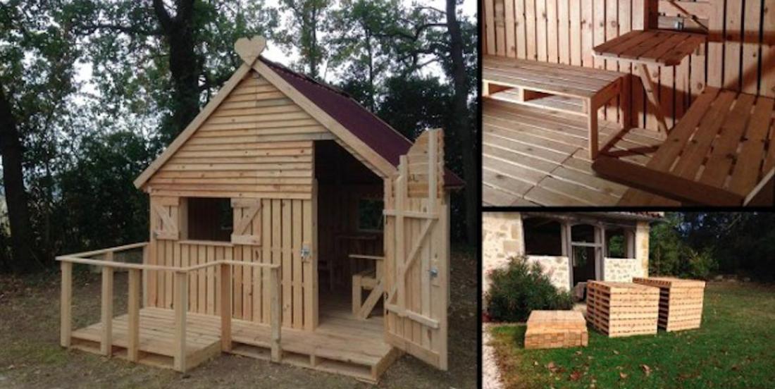 Comment construire une maison pour enfants avec du bois de palettes