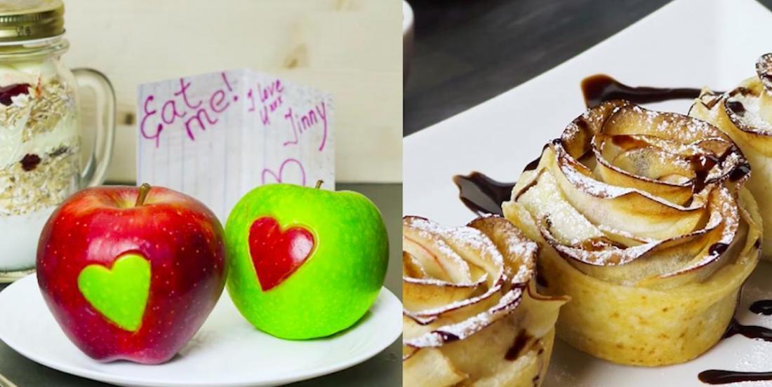5 magnifiques façons de présenter des pommes