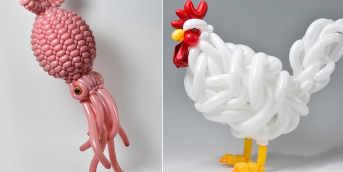 Découvrez des sculptures en ballons totalement incroyables!