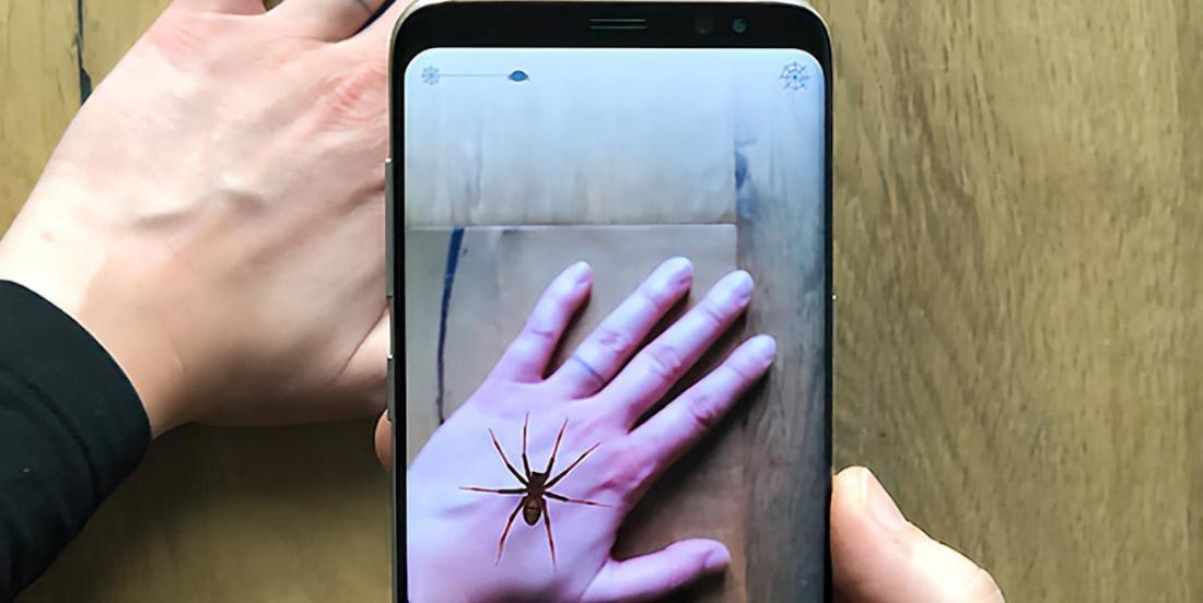 Cette appli vise à vous guérir de votre phobie des araignées