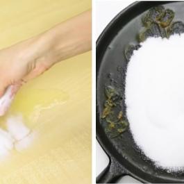 Ces 5 astuces nettoyages pourront vous dépanner grâce à un seul ingrédient, du garde-manger!!