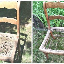 En prenant cette vieille chaise au bord de la route, elle savait qu'elle avait un trésor entre les mains!
