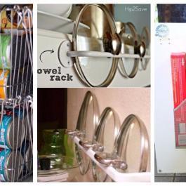 Vous cherchez des idées pour ranger, organiser et dégager la cuisine? Ces astuces simples sont géniales!
