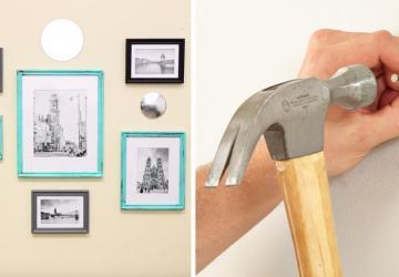 C'est difficile pour vous de disposer des cadres au mur? Voici ce qu'il faut faire!