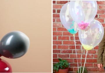 Ne cherchez plus! Voici les 4 plus belles décorations de ballons à réaliser soi-même et facilement!