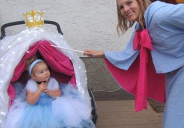 Toutes ces mamans voulaient que bébé participe à la Fête d'Halloween! Voici 20 idées de costume pour bébé, papa et maman!
