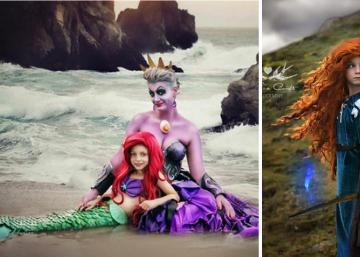 Une petite de 7 ans et sa maman jouent des rôles de Disney! Et leurs photos sont plus belles que la réalité!