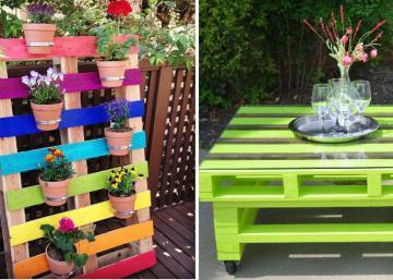 Ajoutez des couleurs vives à vos palettes! 15 idées pour mettre du bonheur dans un jardin!
