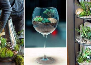 Pourquoi se contenter de cultiver les plantes en pots, quand on peut faire vraiment plus joli? Voici 14 idées plantes-déco!