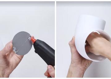 Elle colle un miroir au fond d'un tuyau en PVC et quand elle assemble son montage, il se produit quelque chose de fantastique!