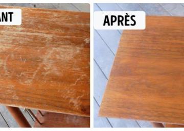C'est plus facile que vous pensez de restaurer une table qui a connu des jours meilleurs!