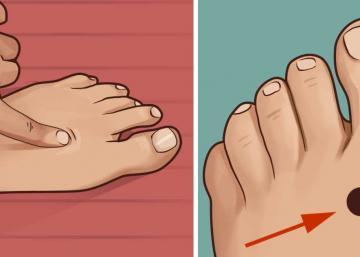 Si vous appuyez sur ce point sur votre pied avant d'aller au lit, voici ce qui arrive à votre corps!