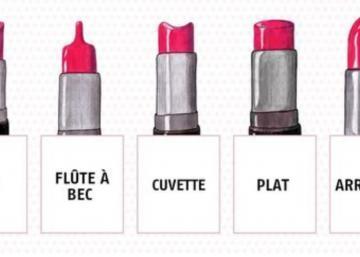 La forme de vos rouges à lèvres en dit long sur votre personnalité!