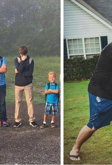 18 photos de parents sur-excités par la rentrée scolaire! On ne peut pas en dire autant des enfants! Des souvenirs hilarants!
