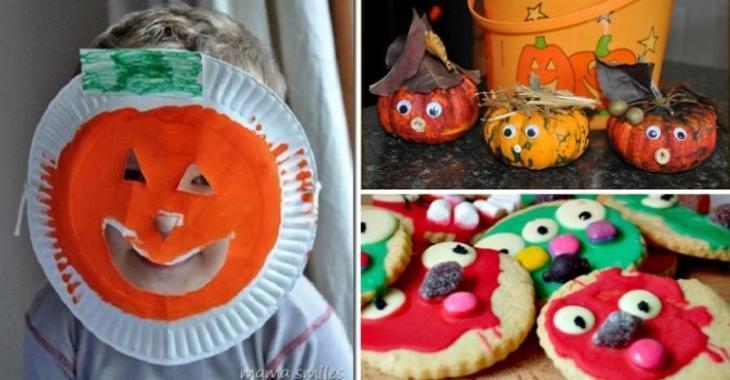Populaire 10 activités d'Halloween pour les moins de 2 ans! - Bricolages  XF52