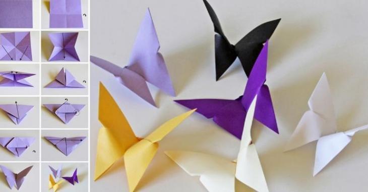 Super Bricoler des papillons de papier! Faites-en des décorations  MJ74