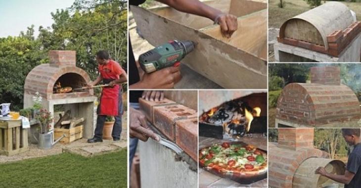 Superieur Fabriquer Son Propre Four à Pizza! Photo