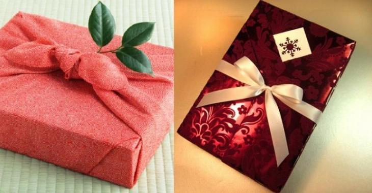 Astuces emballages cadeaux! À la façon du Japon! 3 techniques!