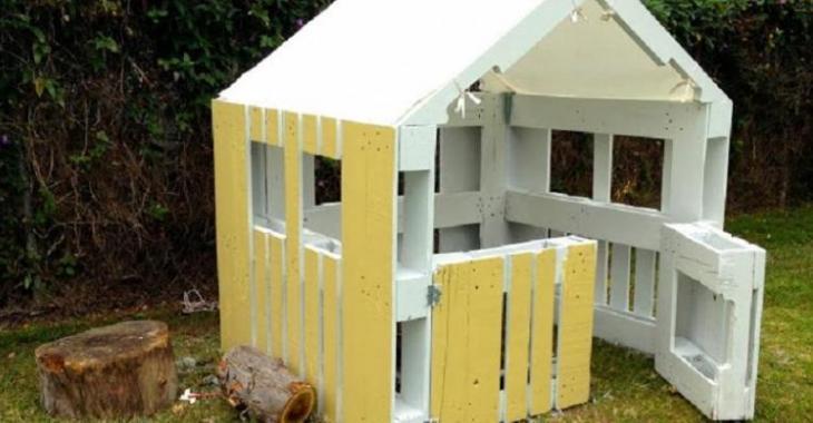 Construire Une Maison Pour Enfant  Partir De Palettes De Bois