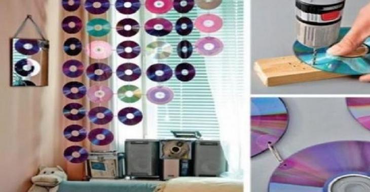 Favori 10 façons amusantes de recycler de vieux CD Certains projets  AT17