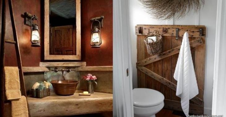 Amazing Salle De Bain Rustique Photos de Design - Idées décoration ...