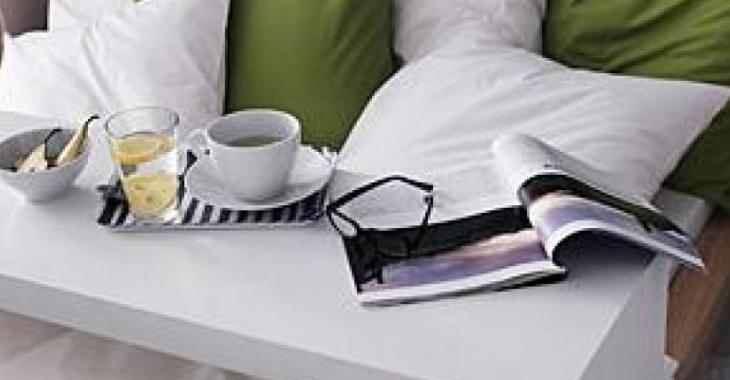 Fabriquer une console de lit comme celle de chez Ikea!