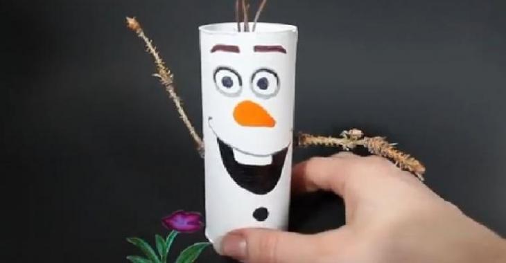 Connu Brico amusante : Avec un rouleau de papier de toilette, répliquez  CZ05