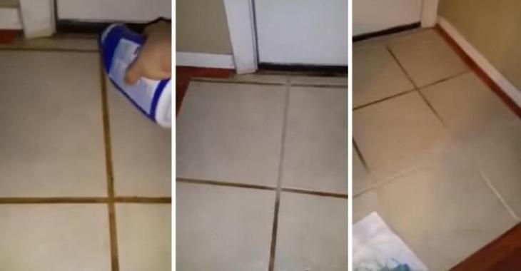 Nettoyer Les Joints De Carrelage Avec Un Produit Surprenant Mais - Carrelage joint