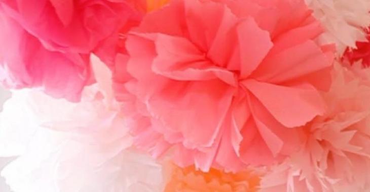 Connu Les fleurs en papier de soie! - Trucs et Astuces - Trucs et Bricolages JZ93