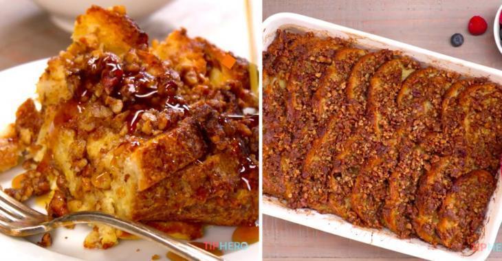 Cuisinez le pain perdu grillé! Une recette irrésistible pour les grandes tablées!