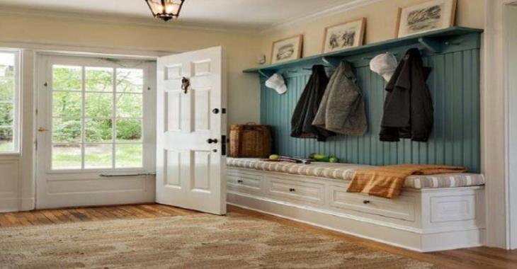 13 ides pour amnager un banc dans votre entre de maison - Amenager Une Entree De Maison