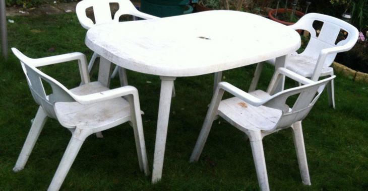 Comment laver les meubles de jardin en résine ou en acrylique ...