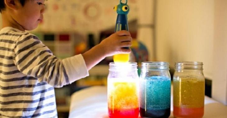 Fabriquer une lampe de lave en pot! Une expérience amusante!
