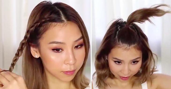 10 coiffures simples à réaliser soi-même en moins de 10 minutes