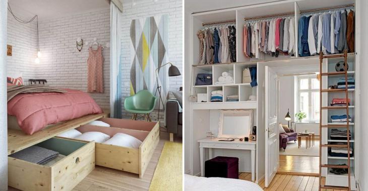 15 brillantes ides pour amnager une petite chambre coucher
