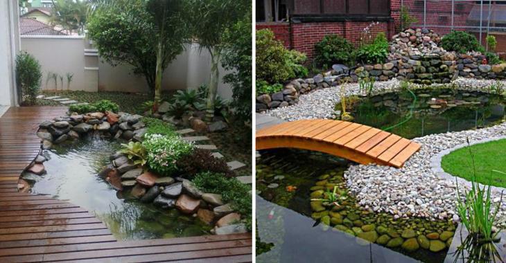 12 idées inspirantes pour aménager un bassin d'eau dans votre jardin
