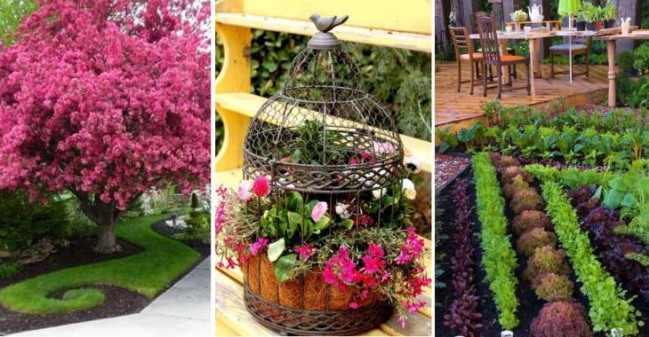 18 belles idées pour décorer son jardin différemment!