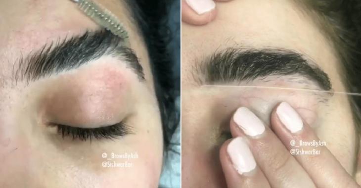 Obtenez des sourcils parfaits grâce à cette technique