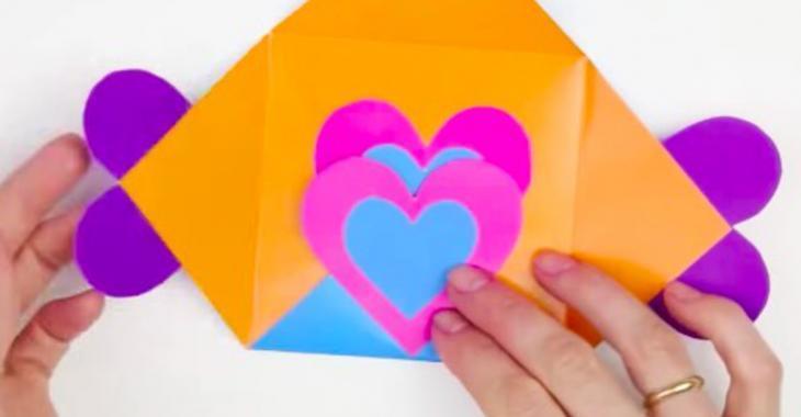 13 cartes-enveloppes faciles à bricoler avec les enfants pour la fêtes des Pères