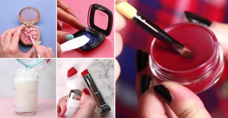 5 façons de récupérer les produits cosmétiques qui sont bons pour les ordures