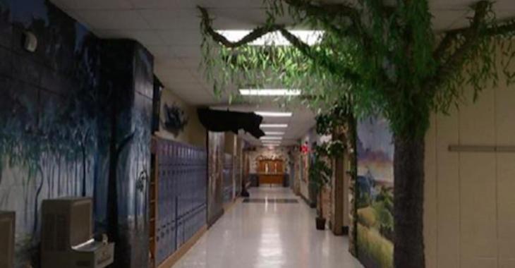 Deux enseignants ont complètement redécoré leur école à la sauce Harry Potter