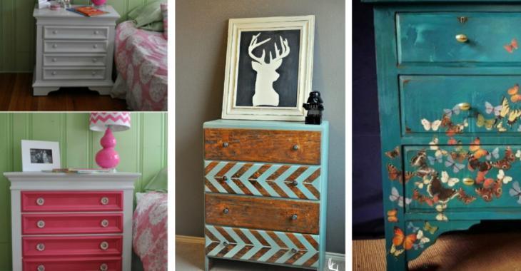 20 superbes inspirations pour relooker tous vos vieux meubles