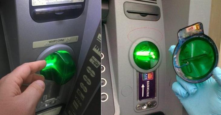 Avant d'utiliser un guichet automatique posez toujours ce geste afin d'éviter de vous faire frauder