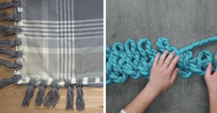 4 couvertures faciles à faire en moins d'une journée