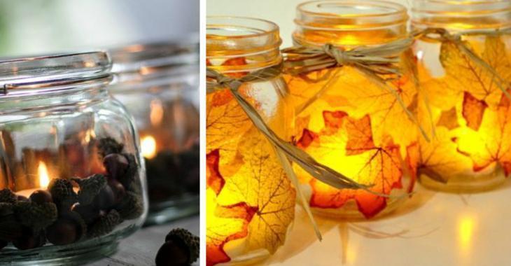 Les 21 plus belles décorations d'automne à faire avec des pots Masson