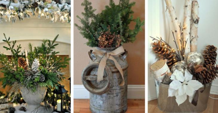 Rassemblez des éléments de la nature pour décorer la maison