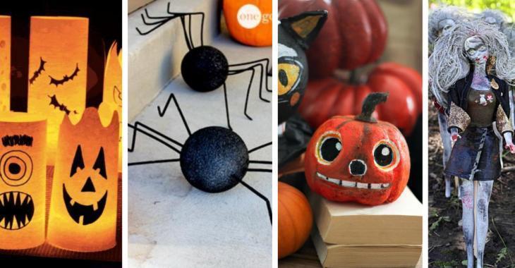 14 magnifiques décorations d'Halloween à fabriquer soi-même