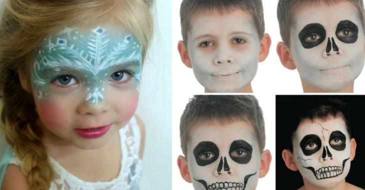 18 idées de maquillages pour enfants parfaits pour Halloween